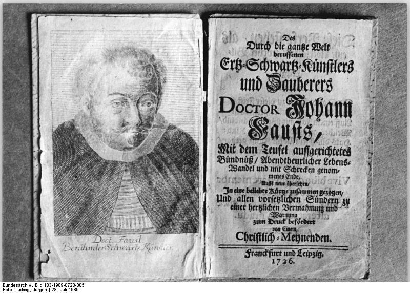 Johann Georg Faust Wikipedia