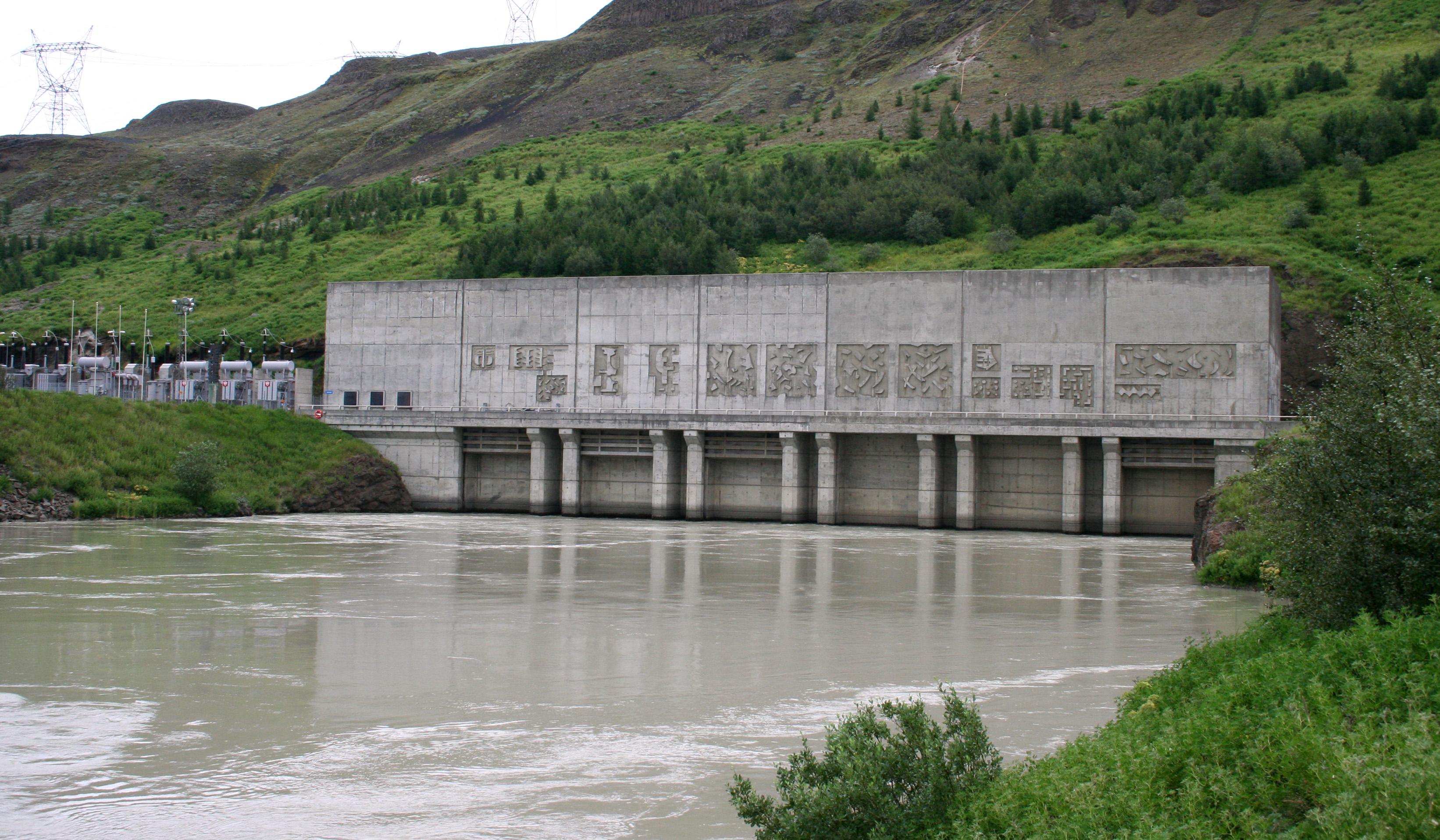 Wasserkraftwerk Búrfell-Kraftwerk
