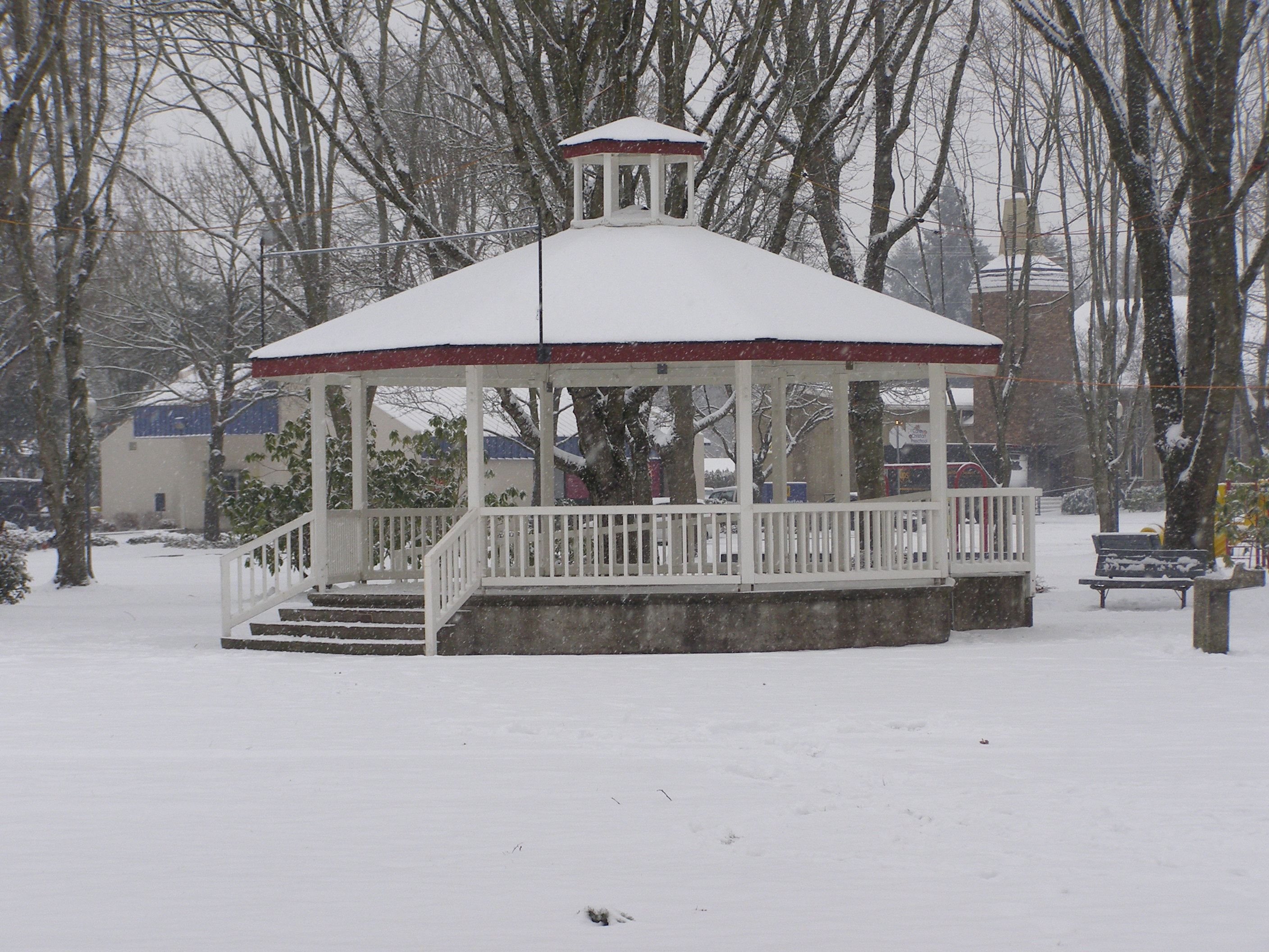 Bikes N More Canby Or Gazebo in Wait Park on a rare