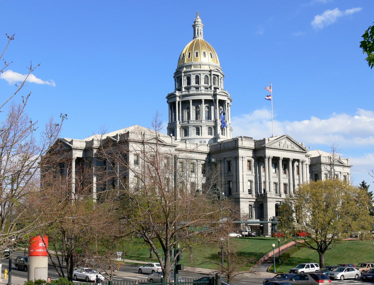 Capitole De L 201 Tat Du Colorado Wikip 233 Dia