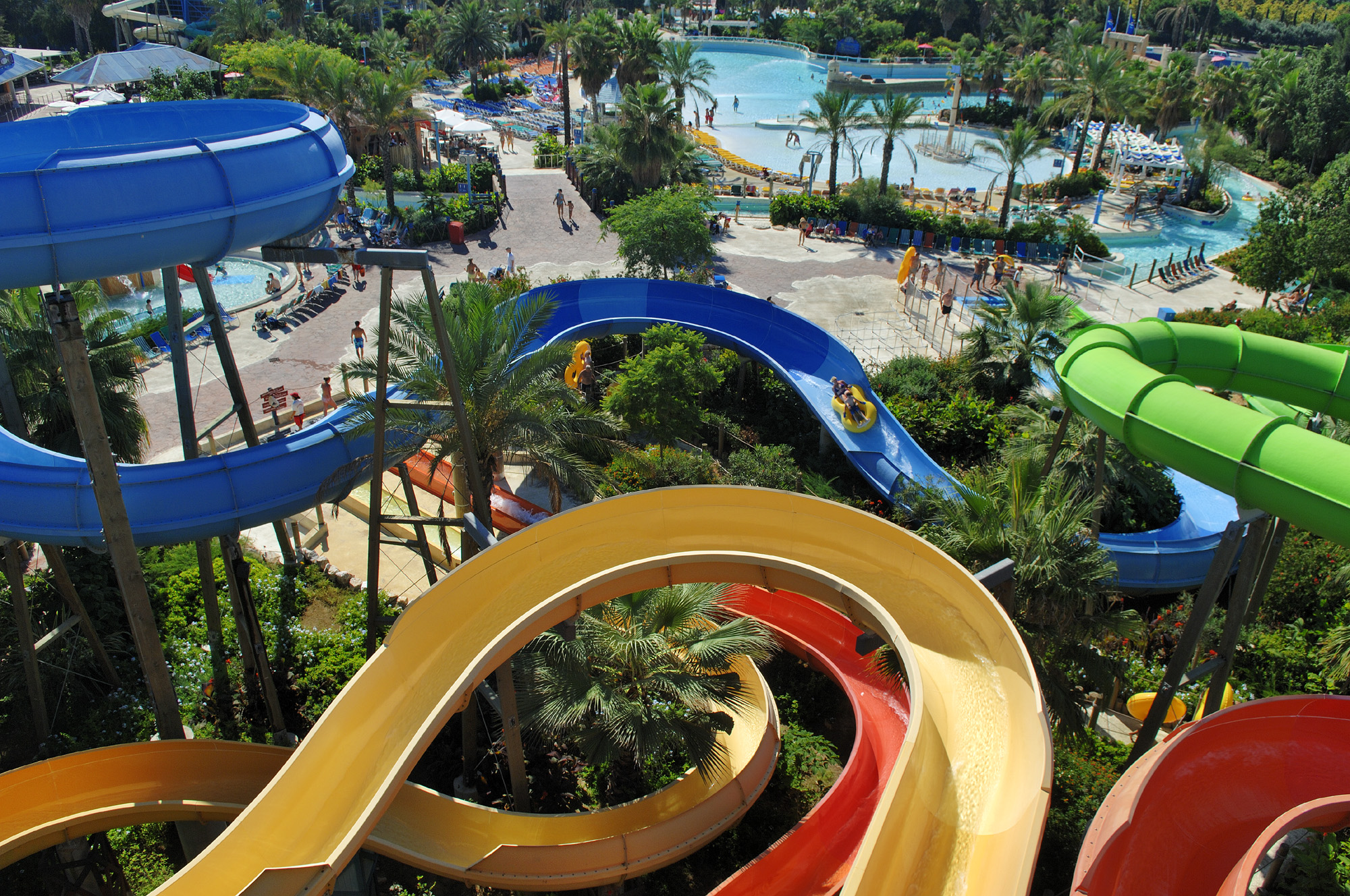 Caribe Aquatic Park; water parks in Spain