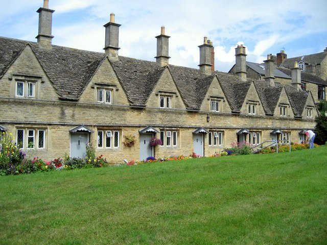 Chipping Norton Almshouses - geograph.org.uk - 224376