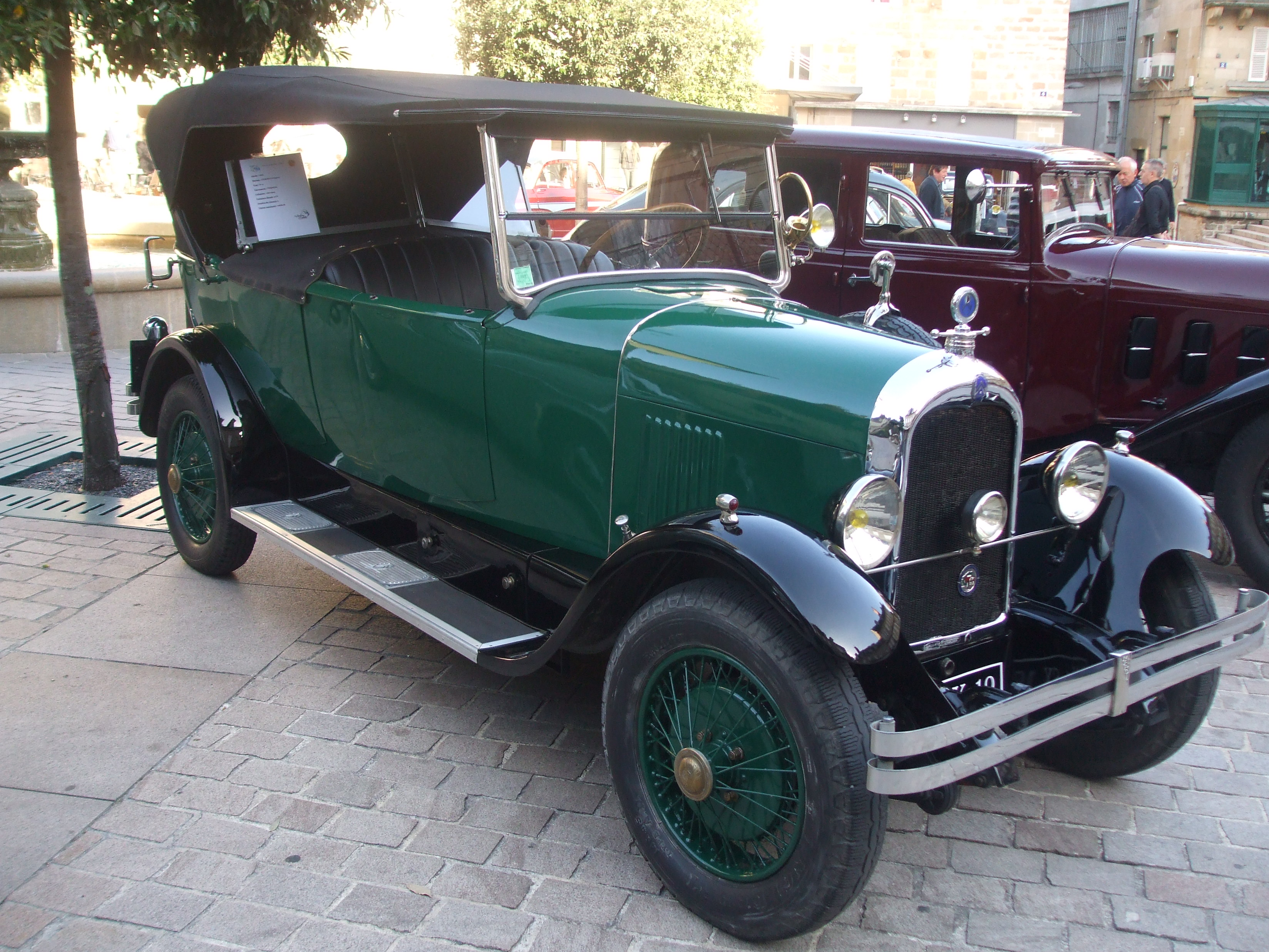 File Citro 235 N B 14 Torpedo 1926 At Car Show Place Du