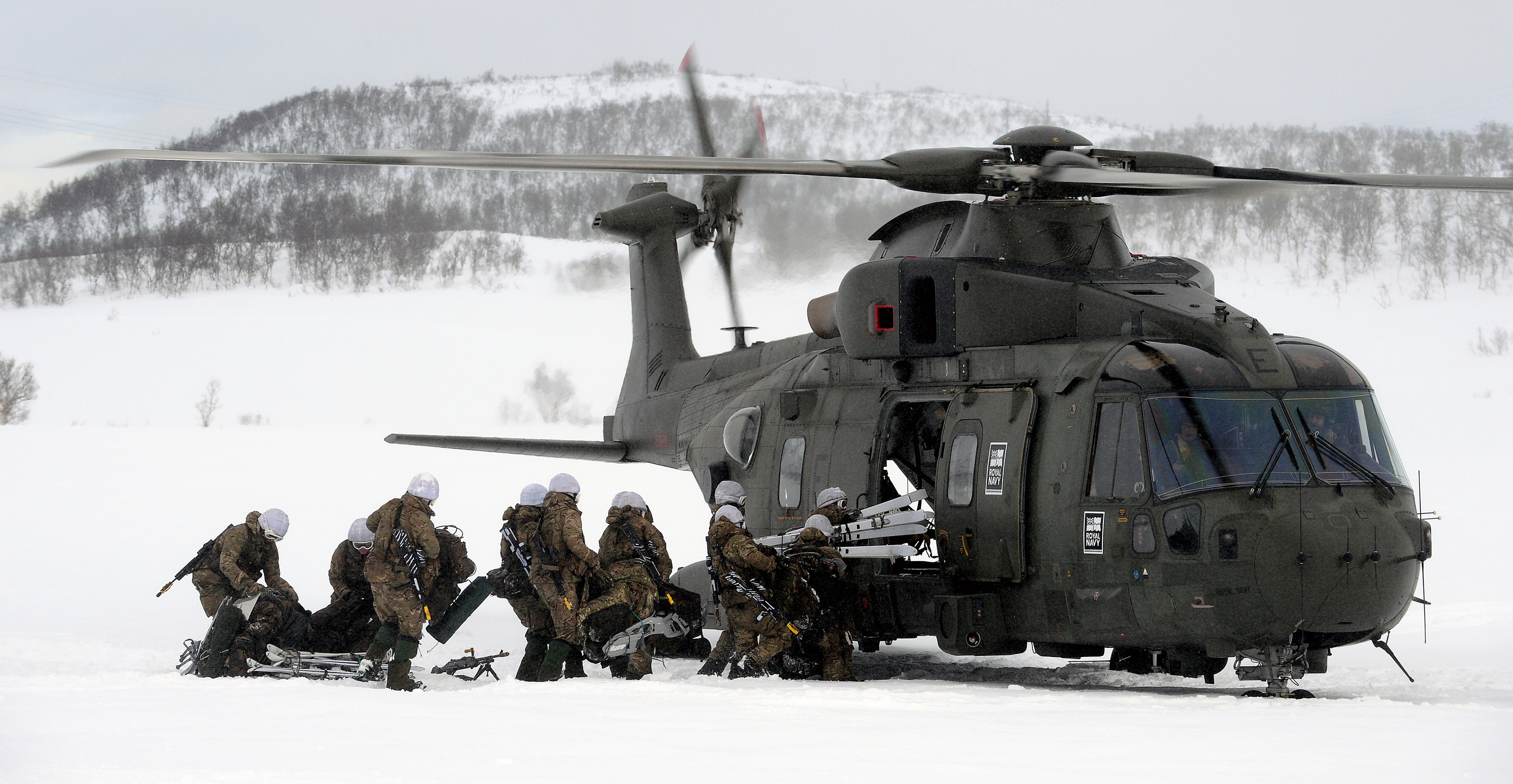 training helicopter with File  Mando Helicopter Force Merlin Mk3 Helicopters On Exercise In Northern Norway Mod 45158525 on P01 besides File RAF Merlin HC3A Helicopter of No28 Sqn MOD 45154032 additionally Admiral Gorshkov Class Russia In Detail moreover File us navy 111104 N Ds193 090 the japan maritime self Defense force helicopter destroyer js hyuga  ddh 181  prepares to turn from a formation of u s besides Agustawestland Delivers Aw139 Ivory Coast.