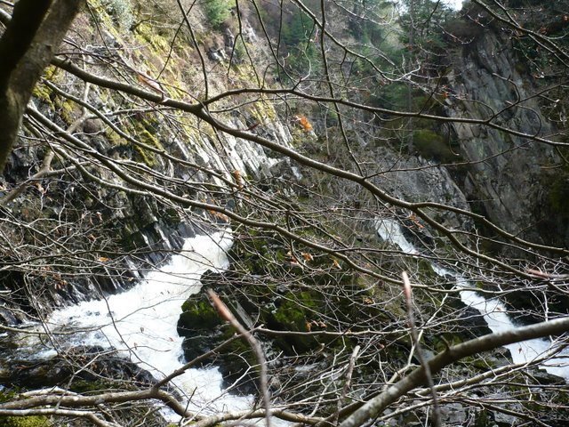 Conwy Falls - geograph.org.uk - 770954