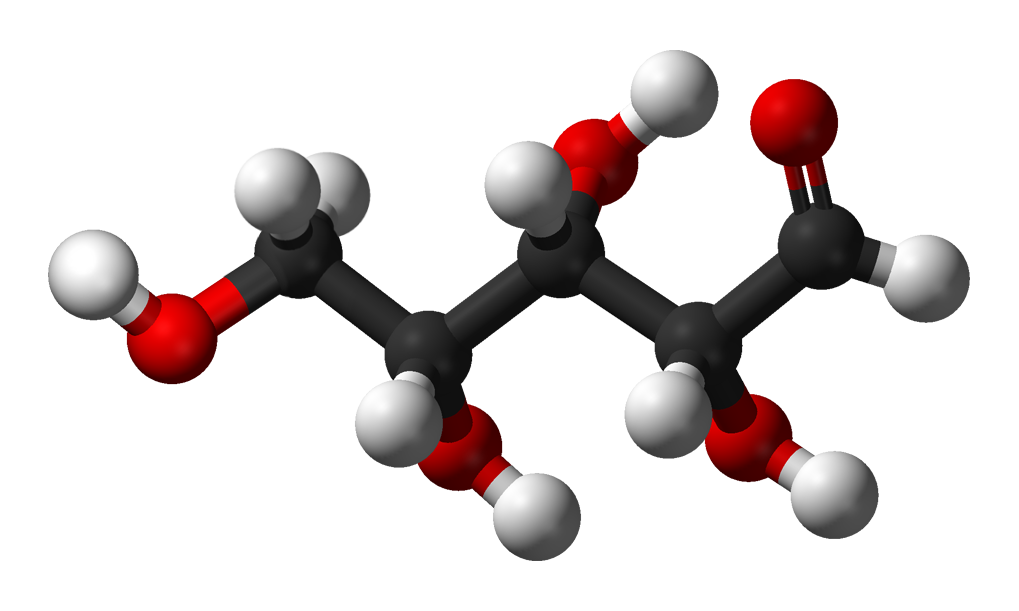 Xylose Structure File:D-xylose-chain-3D...