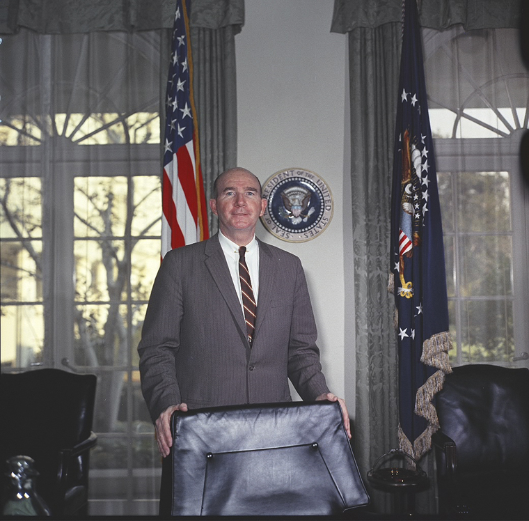David Francis Powers, Special Assistant to President John F. Kennedy.