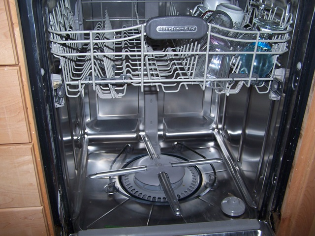 Dishwasher Kitchen Aid Demintions