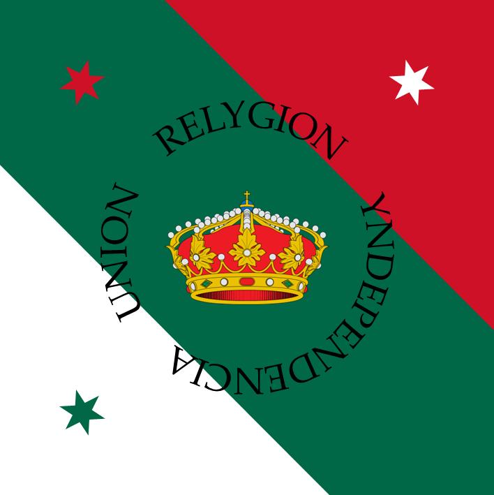 bandera de las tres garantias