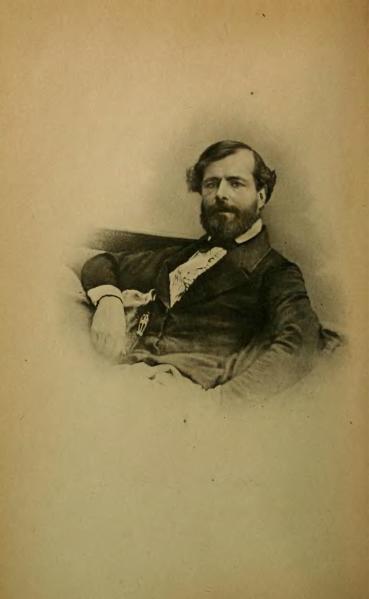 Portrait de Félix Arvers, issu d'un de ses recueils de poésie