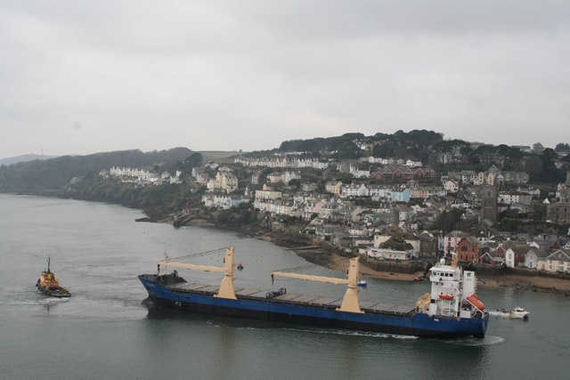 Fowey, seen from the Hall Walk - geograph.org.uk - 138232