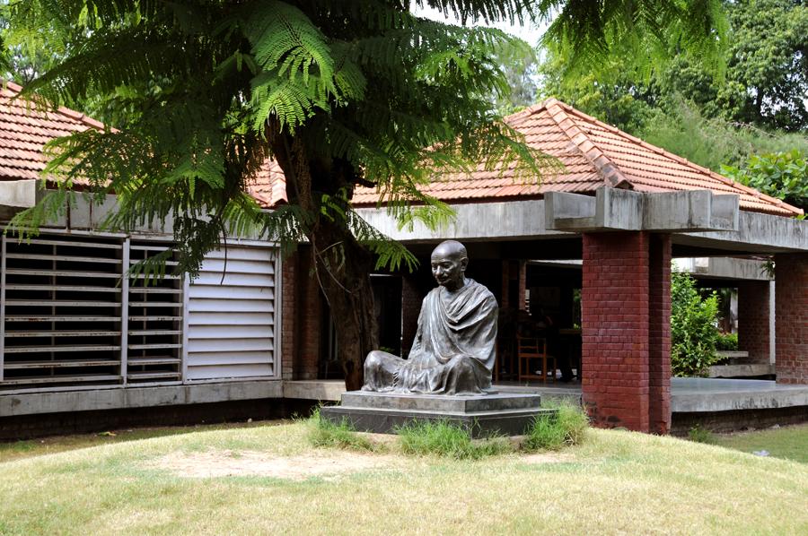 The Sabarmati Ashram, home of Mahatma Gandhi