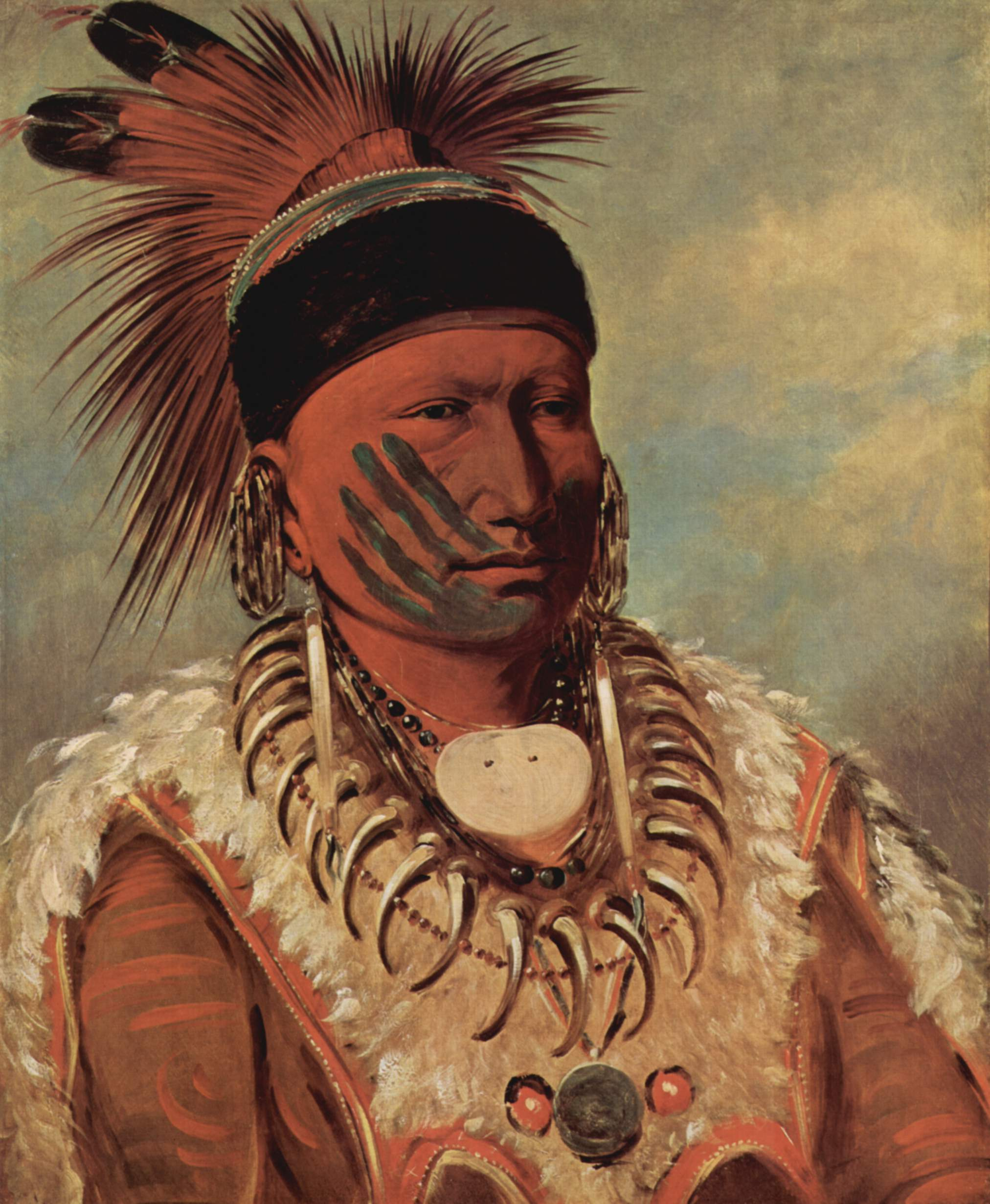 Famous Native American Paintings