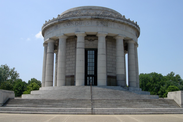 File:George Rogers Clark Memorial in Vincennes, Indiana.jpg