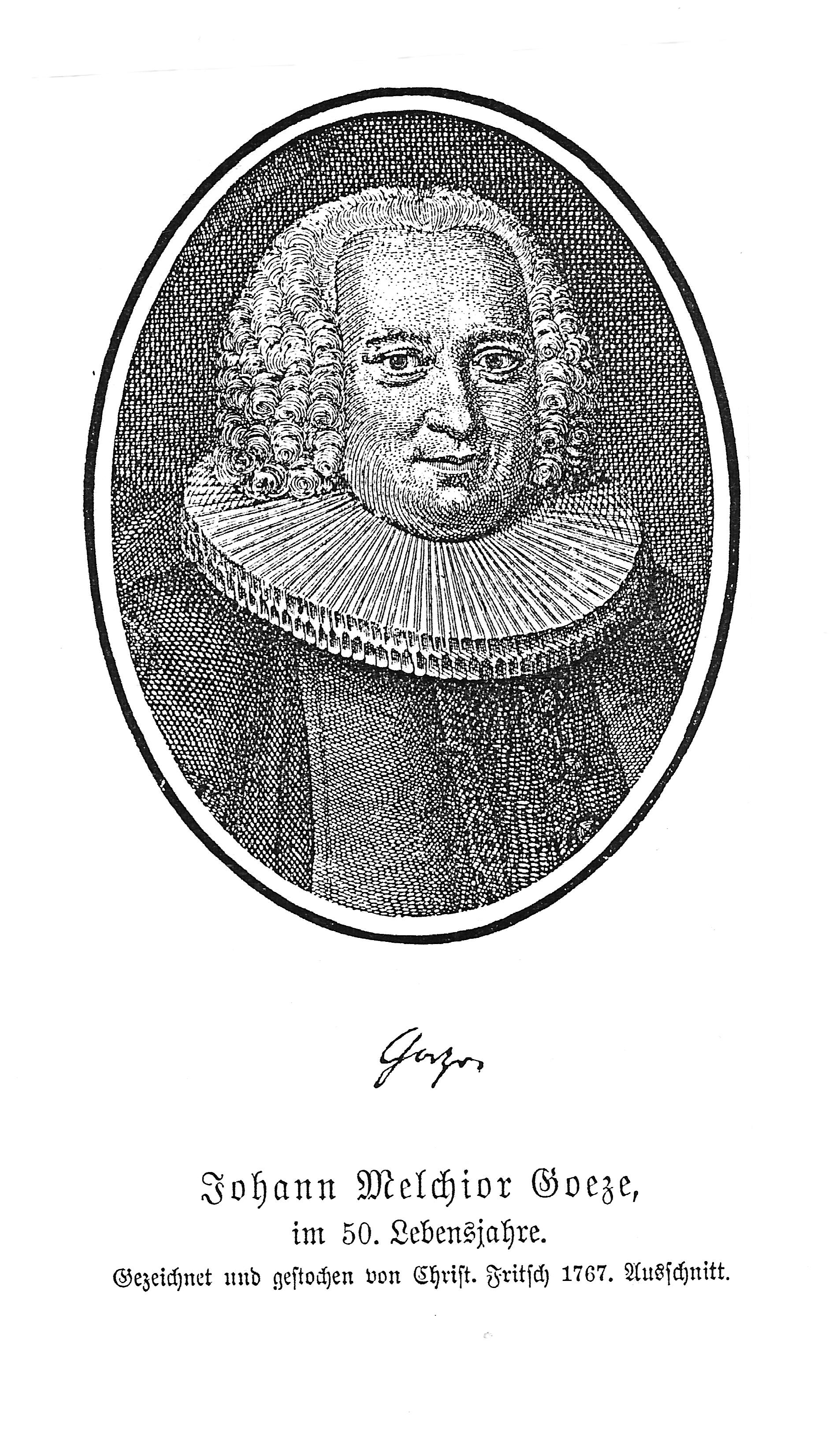 Johann Melchior Goeze