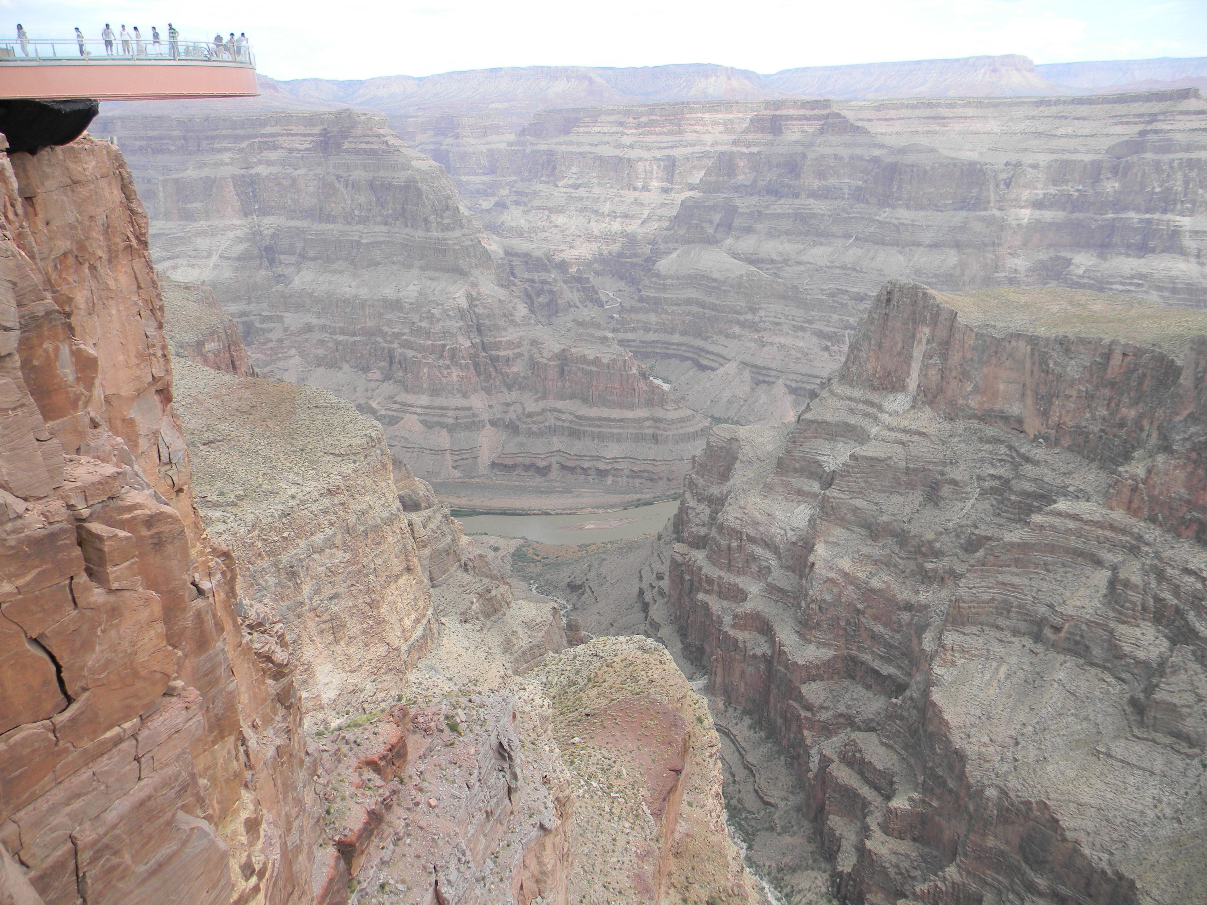 Grand Canyon Eagle Point Car Drive