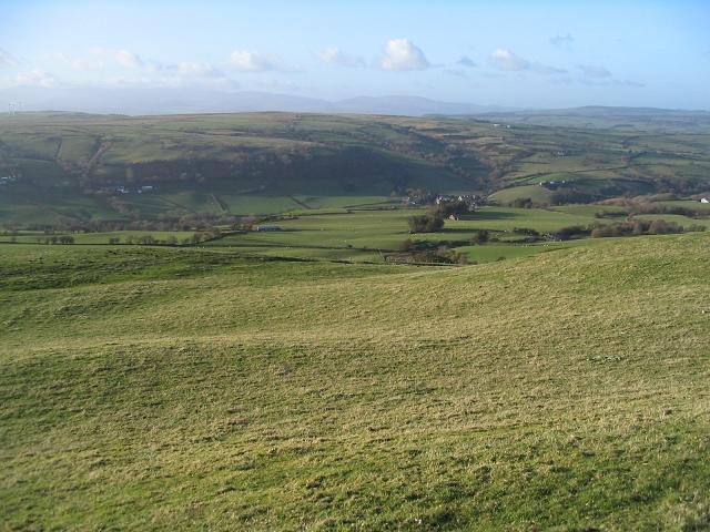 Grazing land at Bryn Euryn - geograph.org.uk - 327646