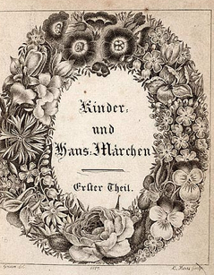 <i>Grimms Fairy Tales</i> collection of German fairy tales first published in 1812 by the Grimm brothers