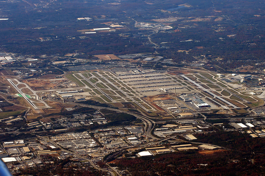 Hartsfield Jackson Airport From The Air Pics