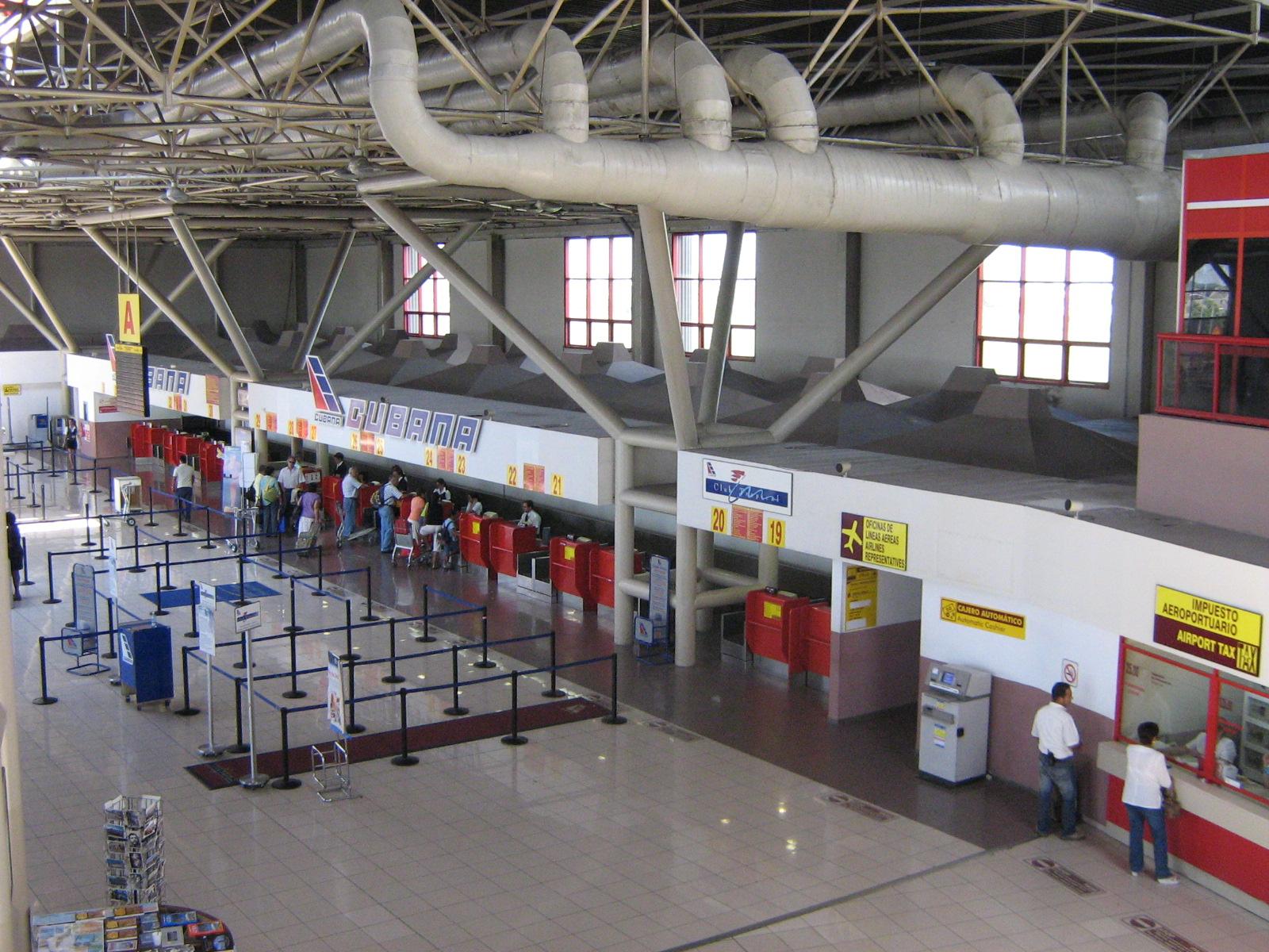 Aeroporto Havana : File havana airport t g wikimedia commons