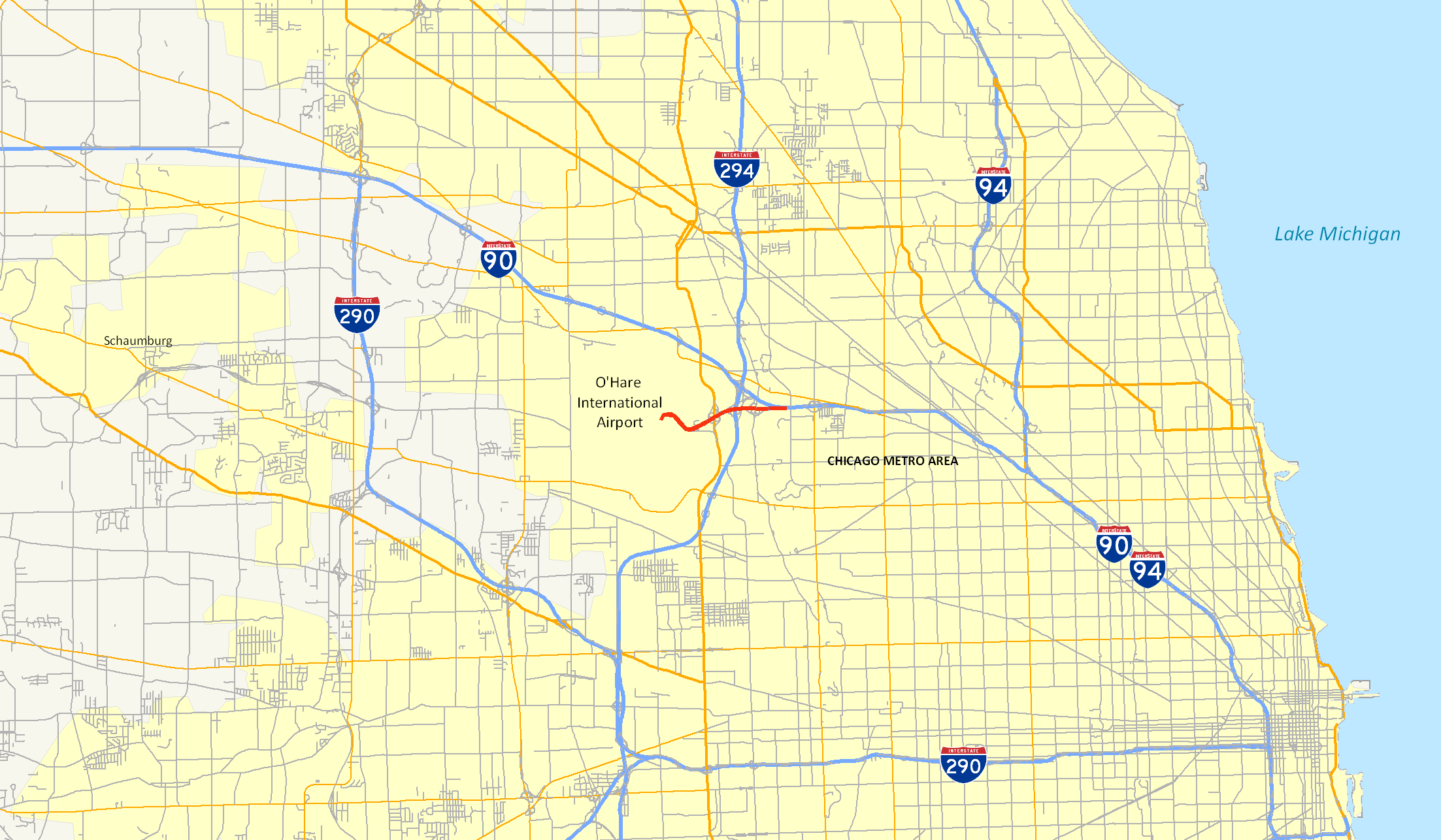 Expressways In The Chicago Area