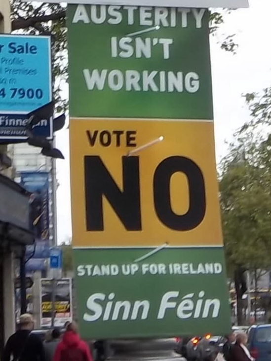 File:Irish Fiscal Compact referendum poster by Sinn Fein.jpg ...