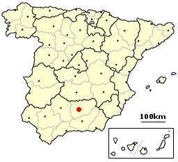 Image:Jaen, Spain location.png