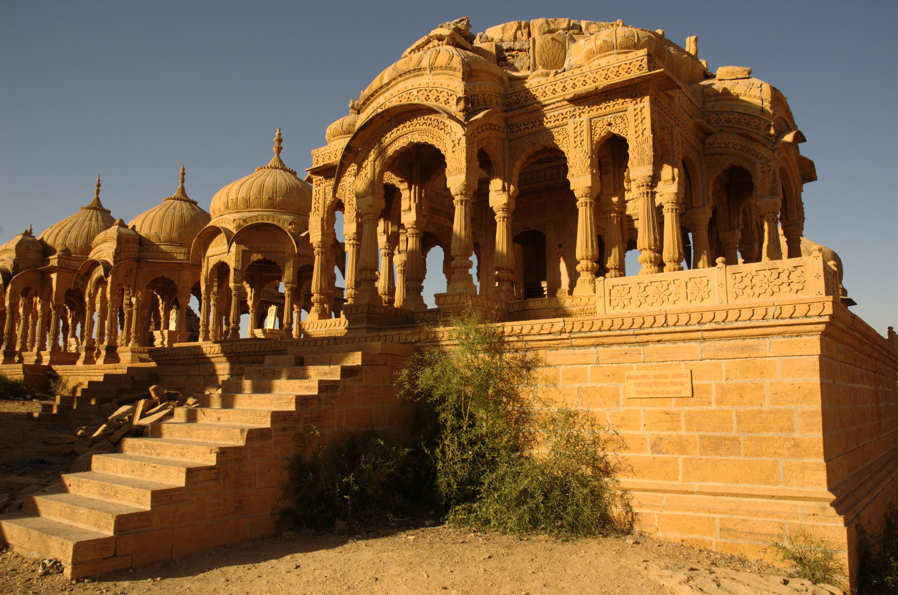 The fort during the best time to visit Jaisalmer