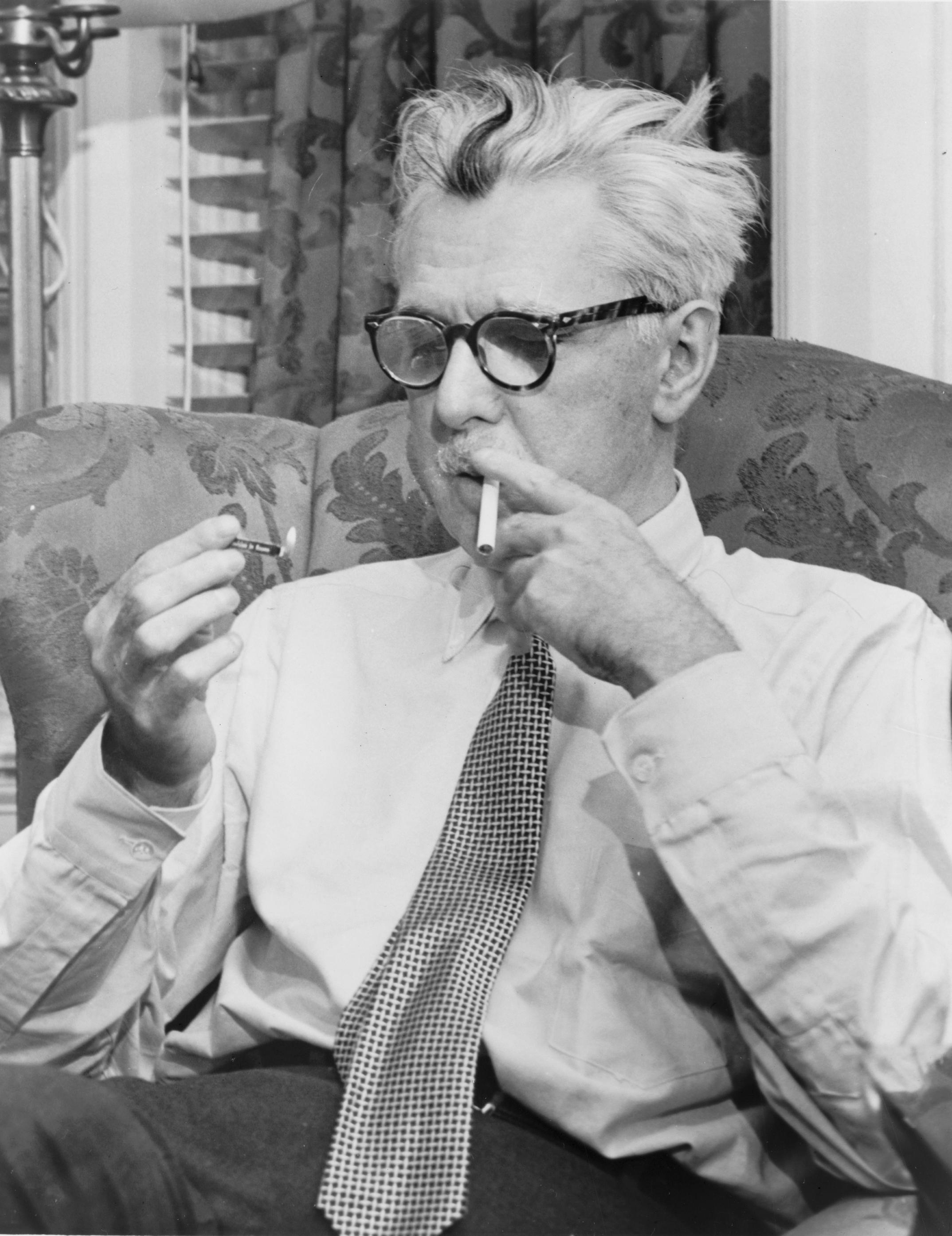 Portrait of James Thurber