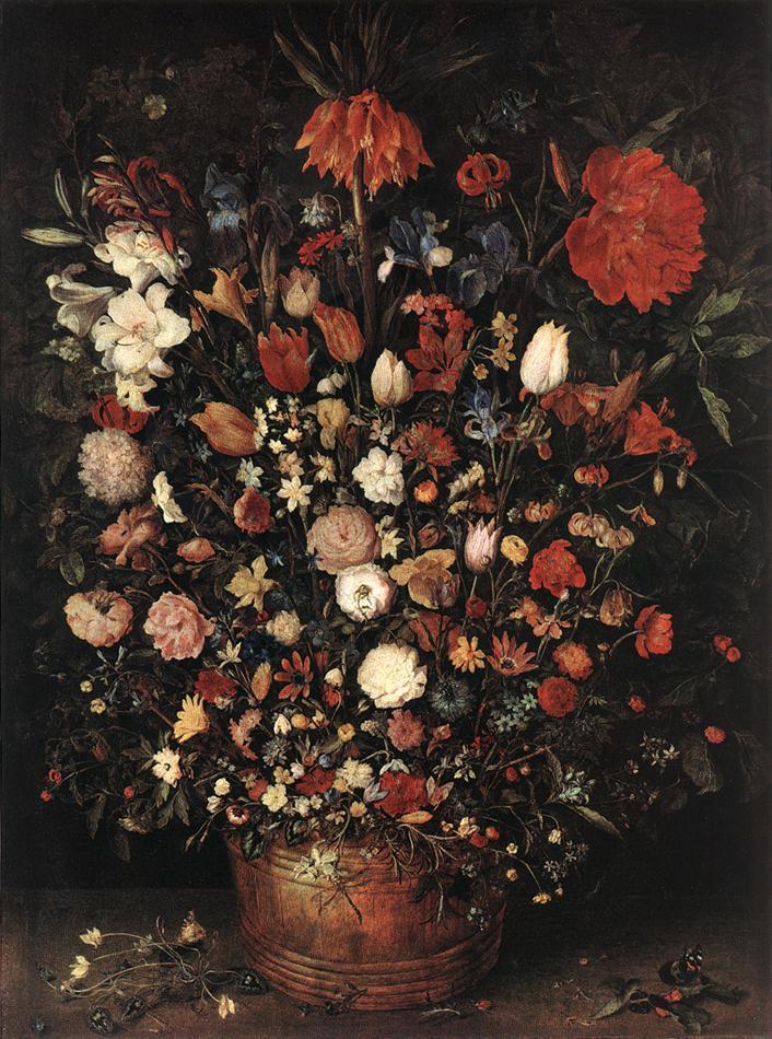 Jan Brueghel the Elder, The Great Bouquet, 1607, Kunsthistorisches Museum, Vienna, Austria