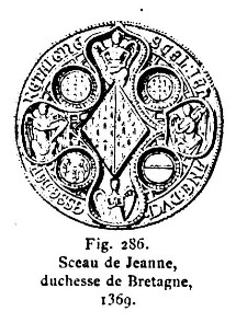 Image illustrative de l'article Jeanne de Penthièvre