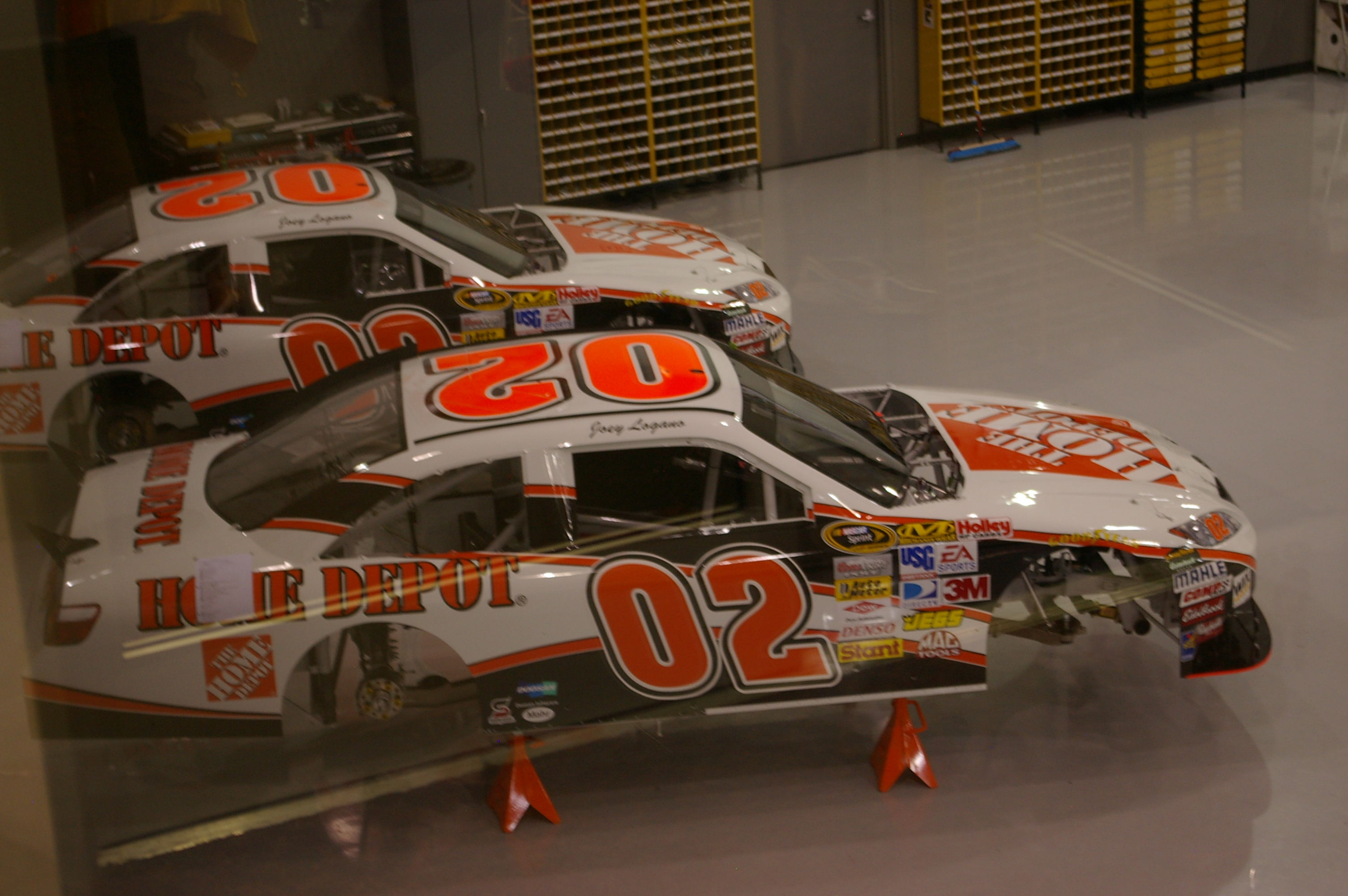 FileJoe Gibbs Racing Joey Logano Number Home Depot