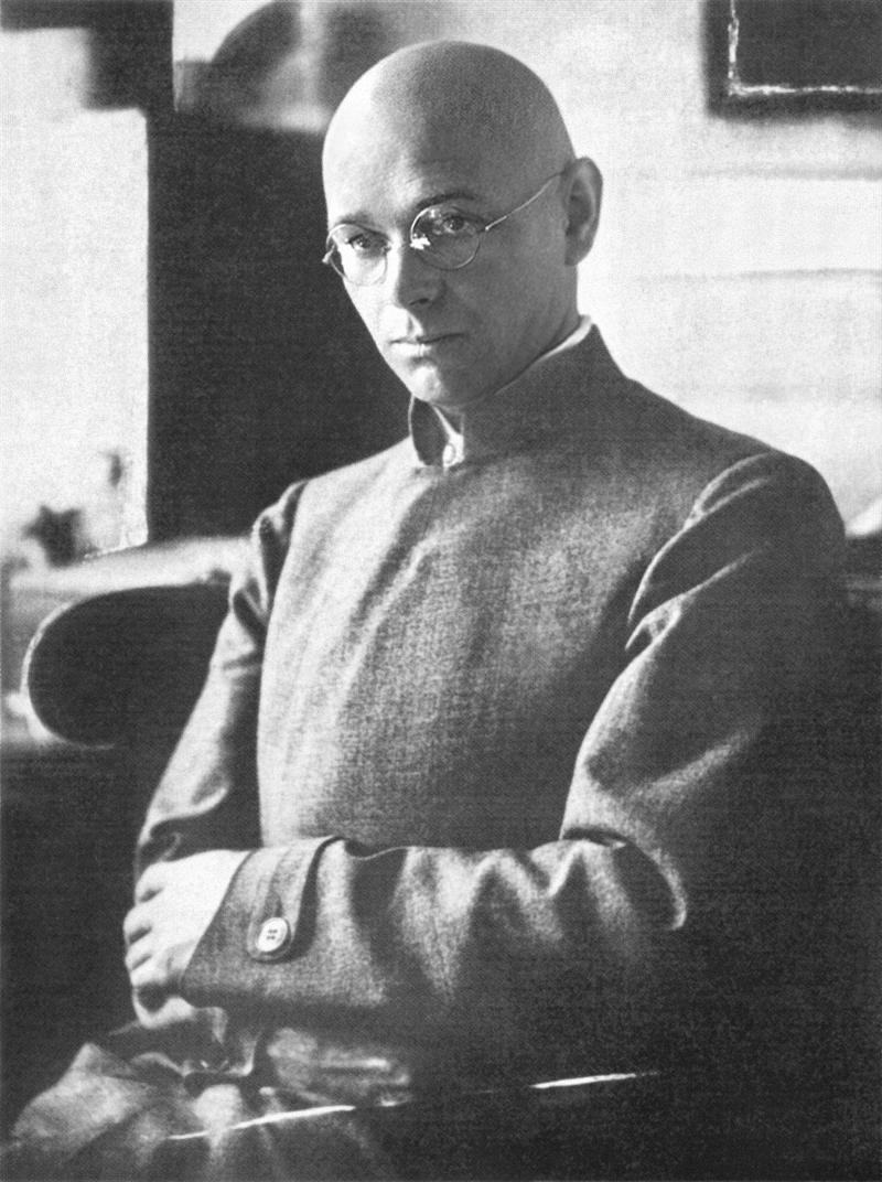Johannes Itten (around 1920)