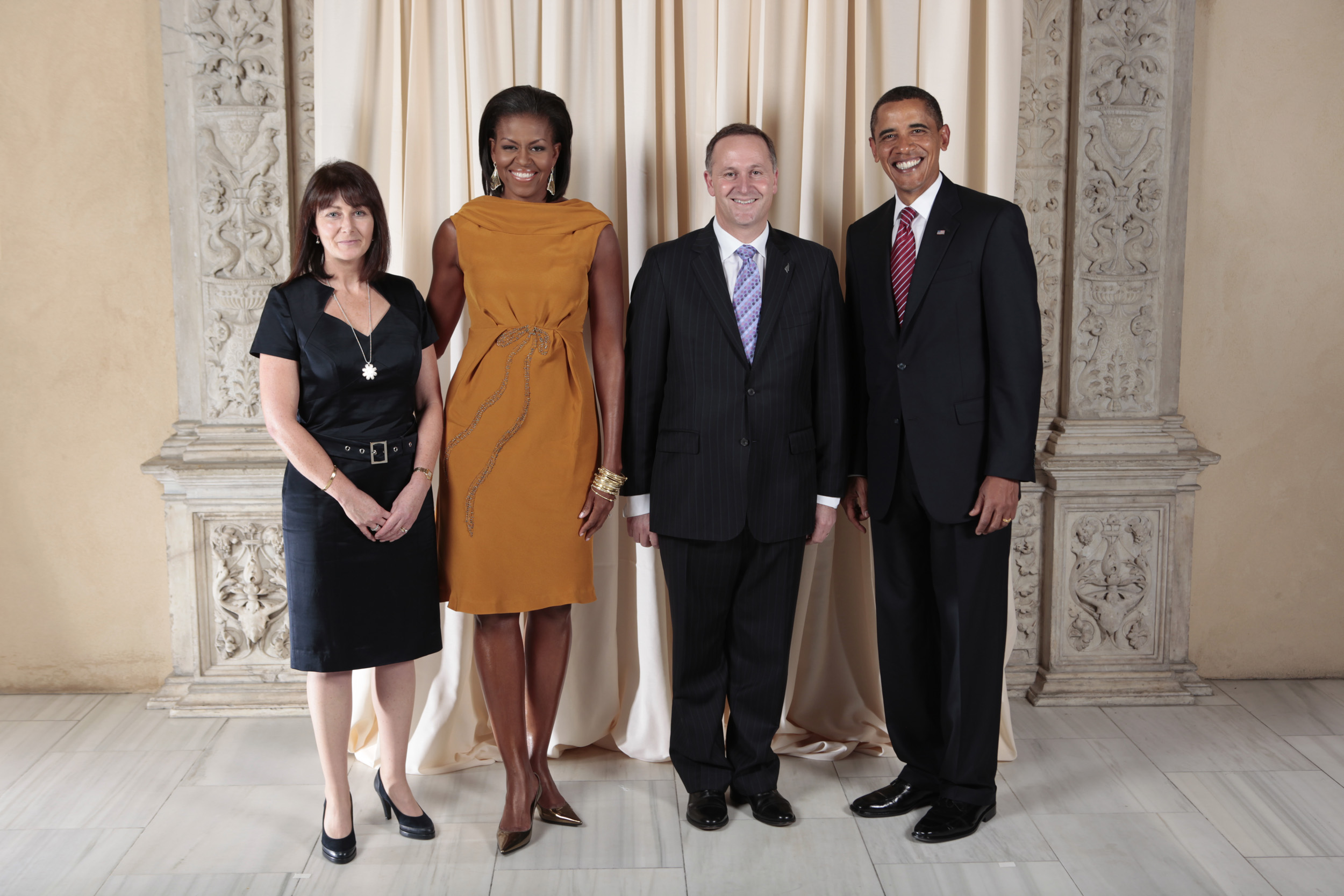 Image result for barack obama john key nz images