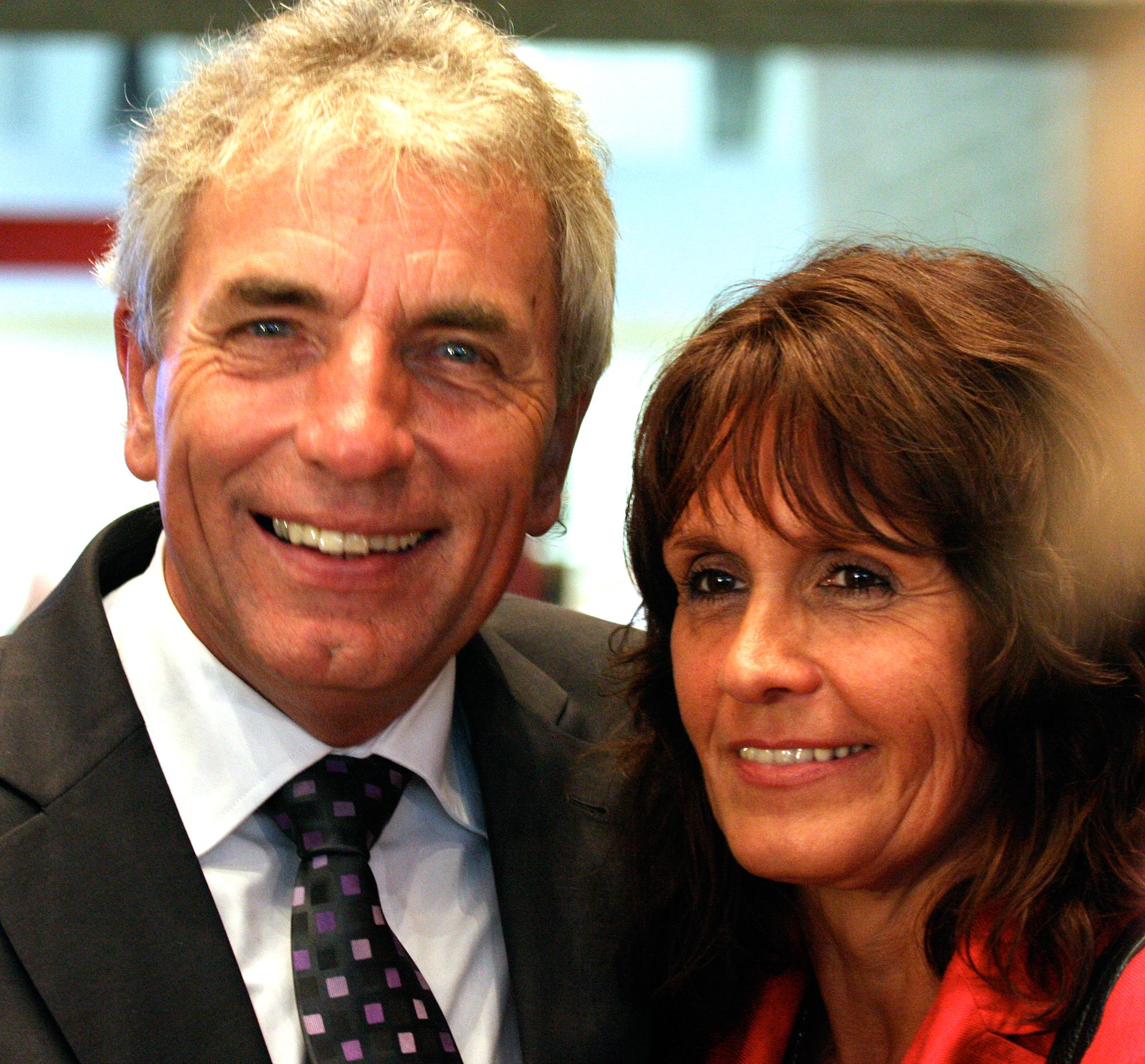 Kölns gegenwärtiges Stadtoberhaupt ist Oberbürgermeister Jürgen Roters, hier mit seiner Ehefrau Angela Roters.