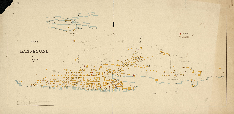 langesund kart File:Kart over Langesund 1914   No nb krt 01308.   Wikimedia  langesund kart