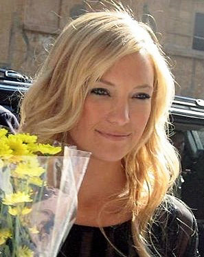 Kate Hudson after her appearance on the David ...