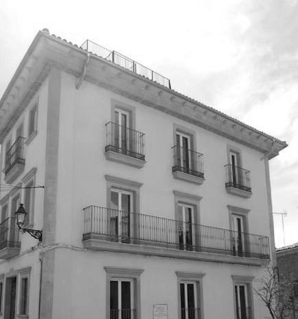 File la casa de les joies antiga farmacia de moi jpg wikimedia commons - La farmacia en casa ...