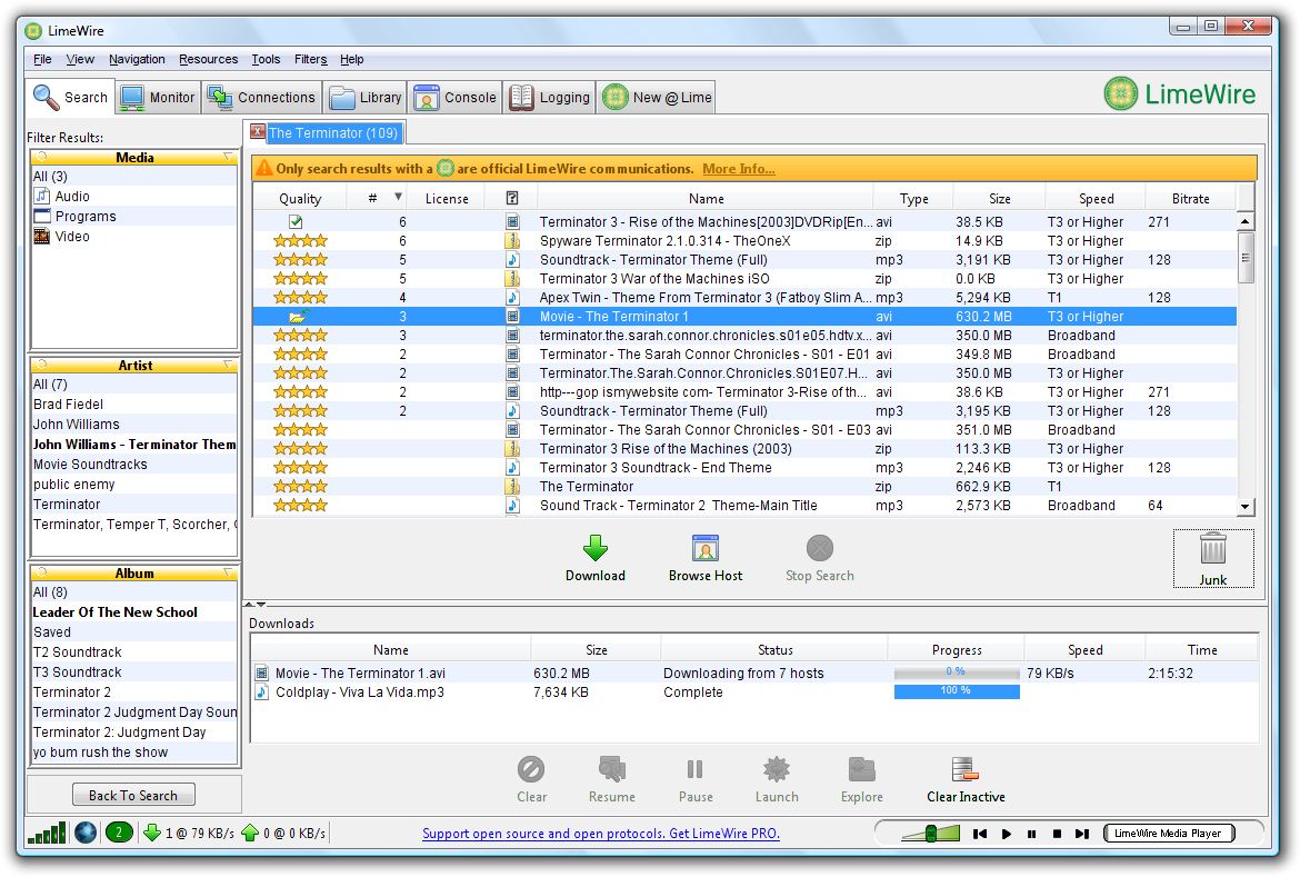 Lime wire pro 4.18.3 latest