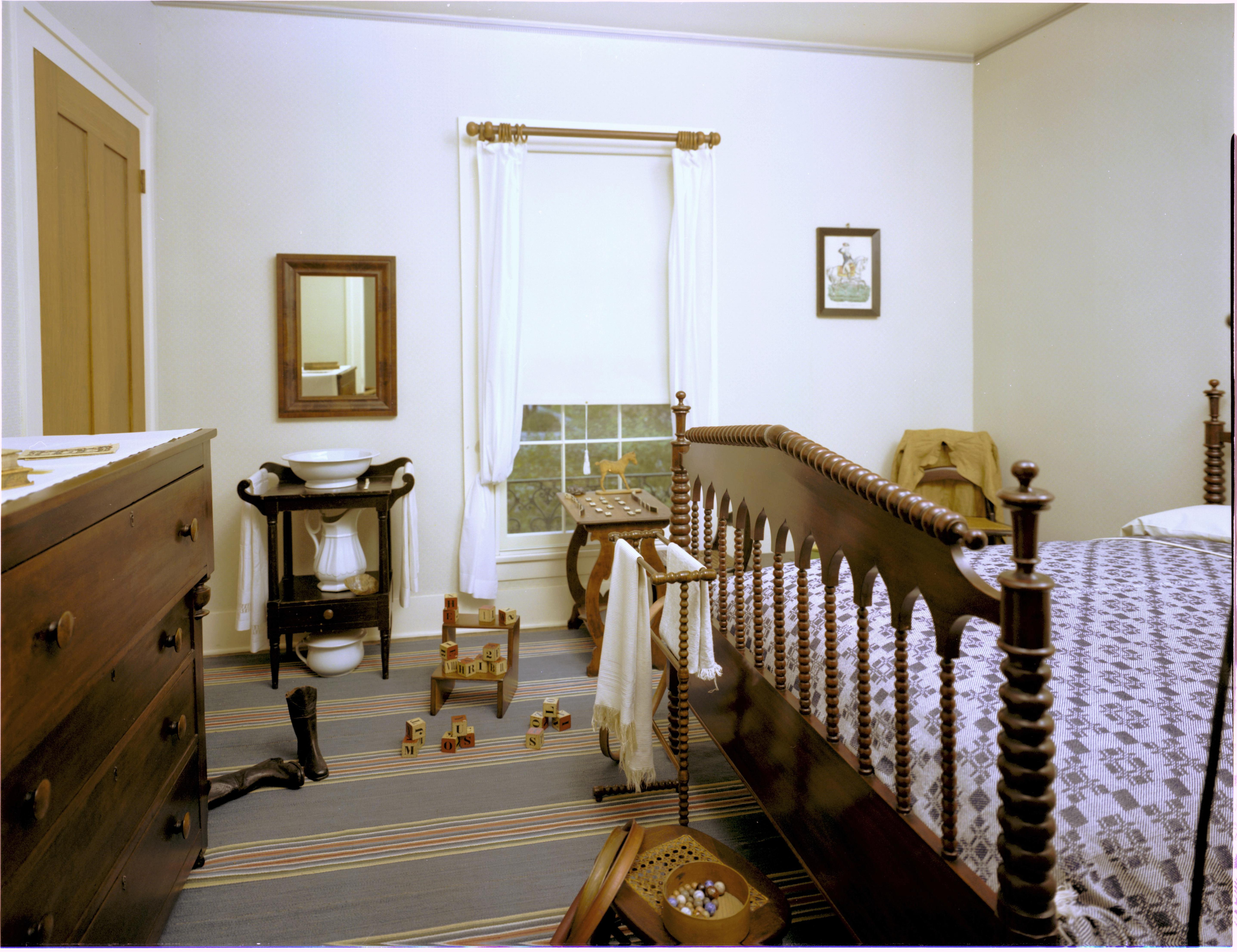 File:Lincoln Home National Historic Site LIHO Boys Room ...