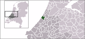Location of Katwijk