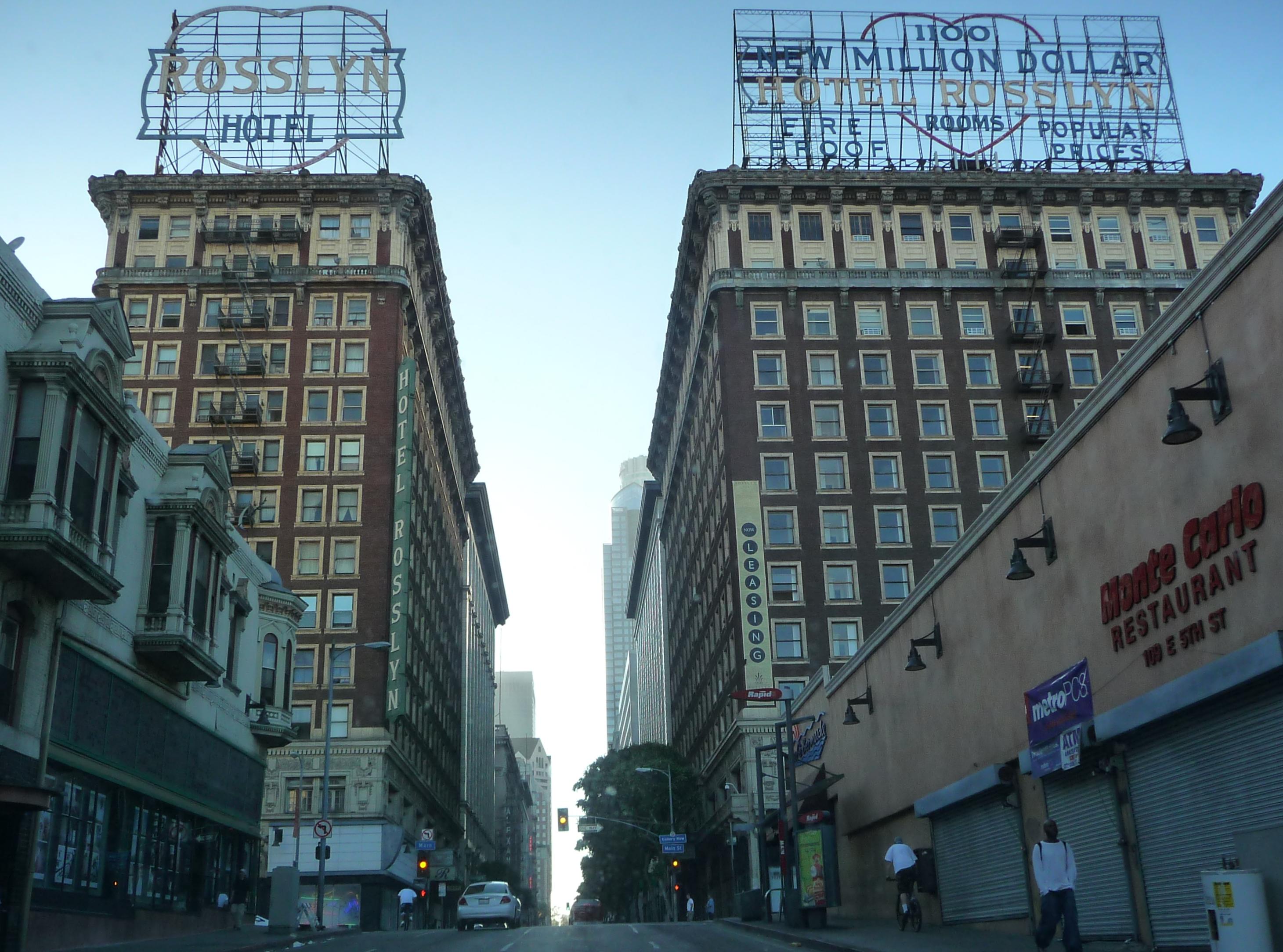 Los Angeles Hotel Addreb
