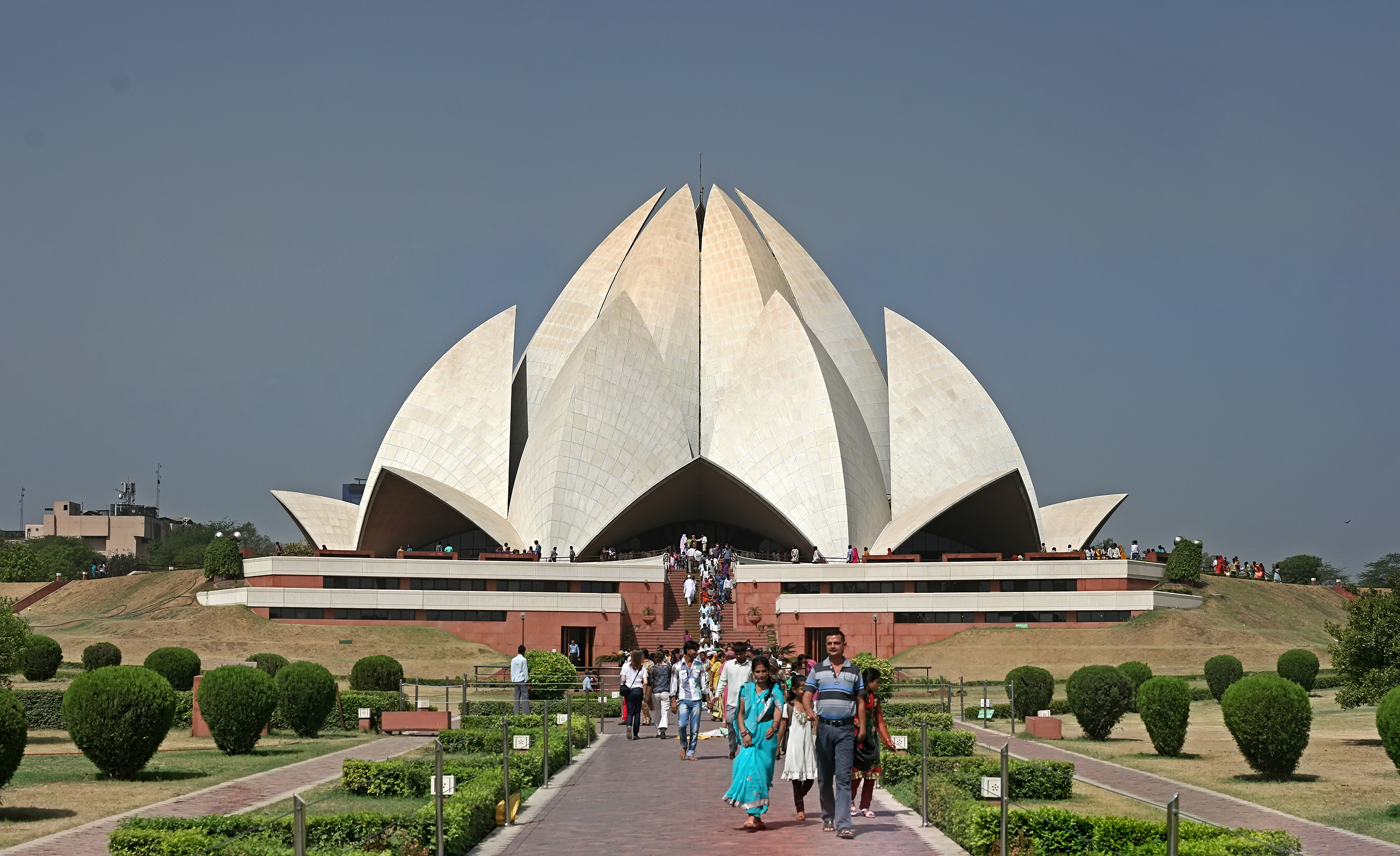 Lotus temple delhi gallery for The lotus temple