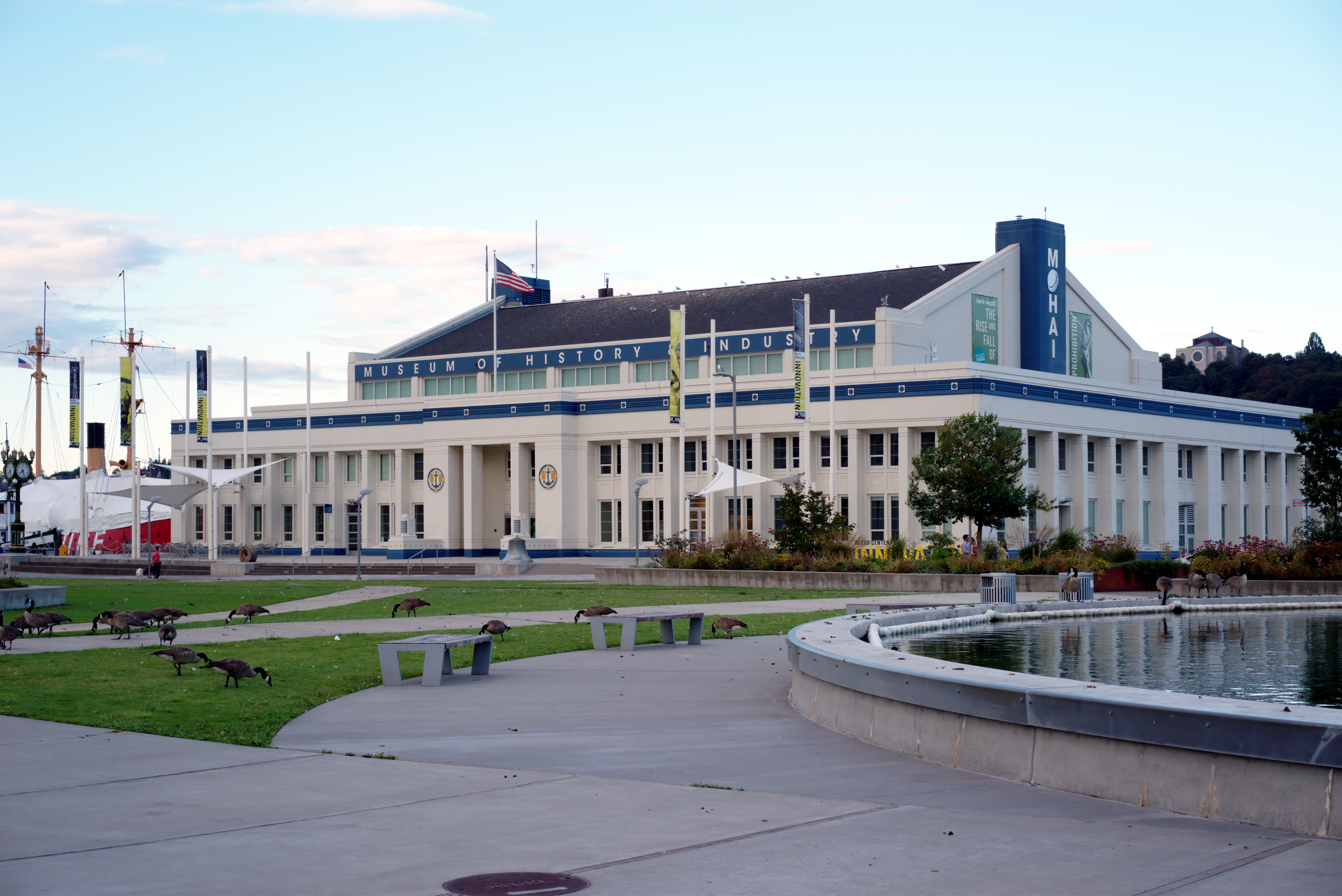 MOHAI Armory building at Lake Union Park west side high quality.jpg