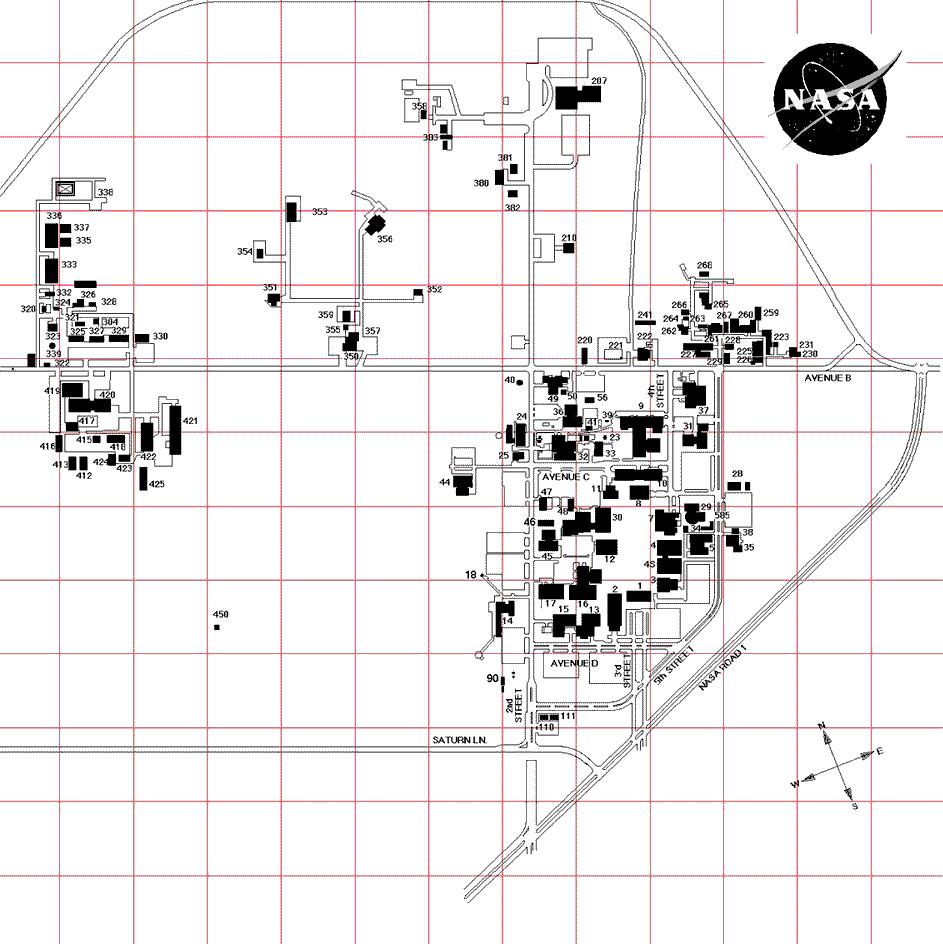 nasa space center map - photo #3