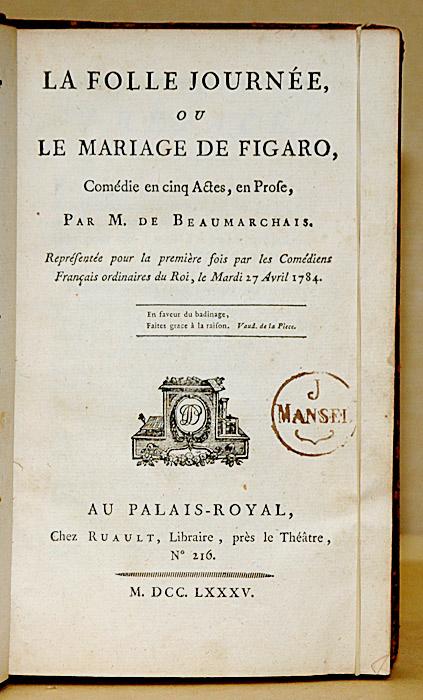 Le Mariage de Figaro \u2014 Wikipédia