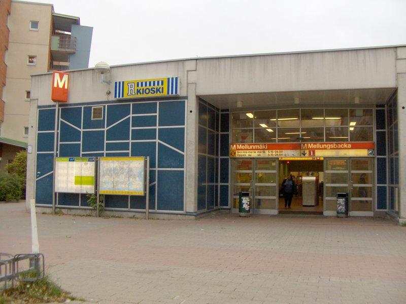 Mellunmäki Metroasema