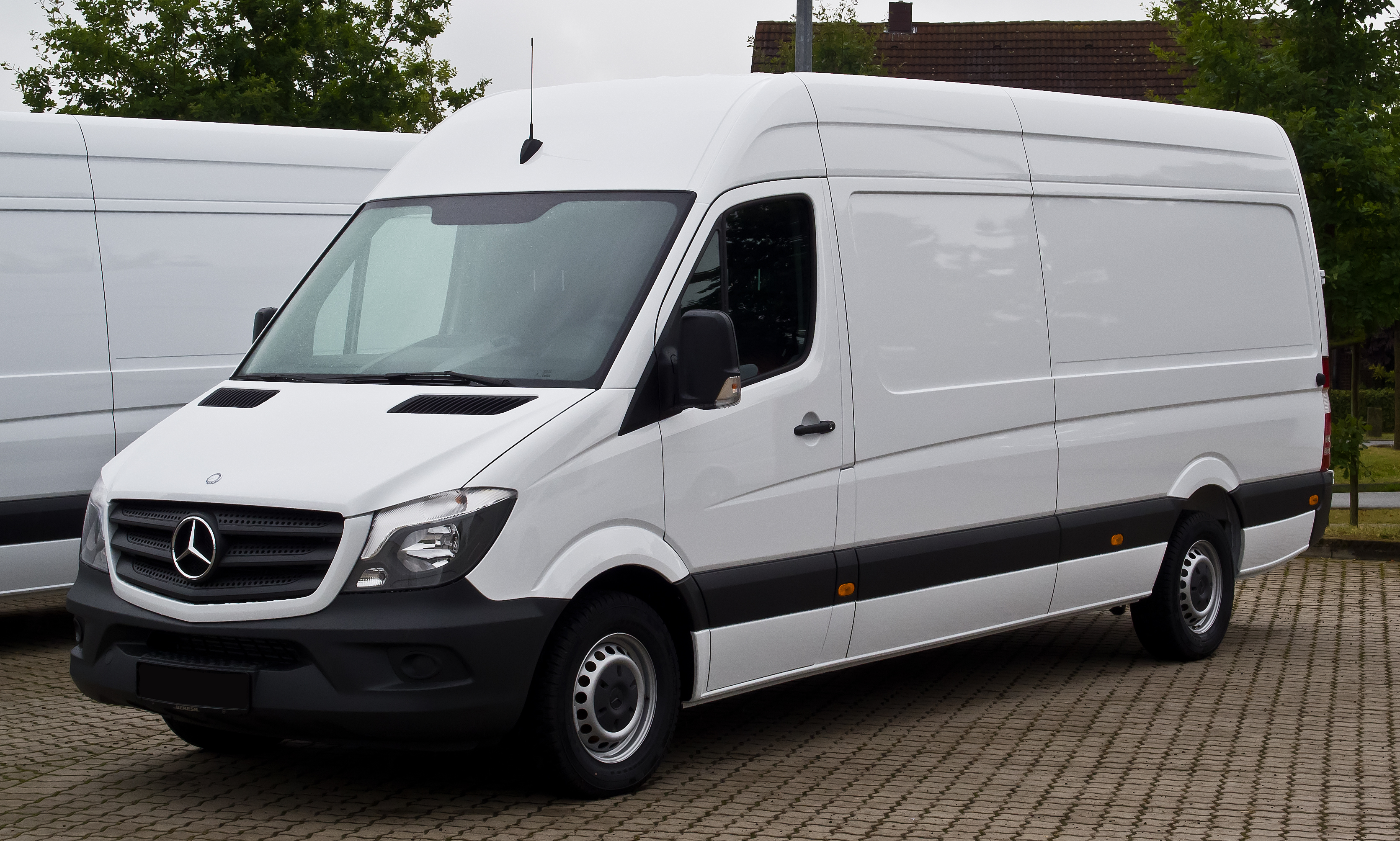 For the logistics fans equipment profile mercedes benz for Mercedes benz work vans