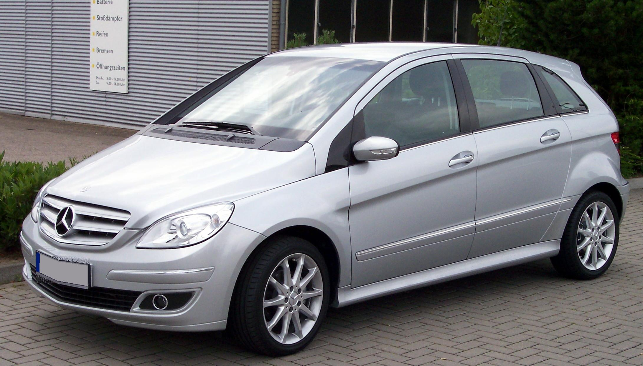 File mercedes benz b 170 silver wikimedia commons for Mercedes benz silver