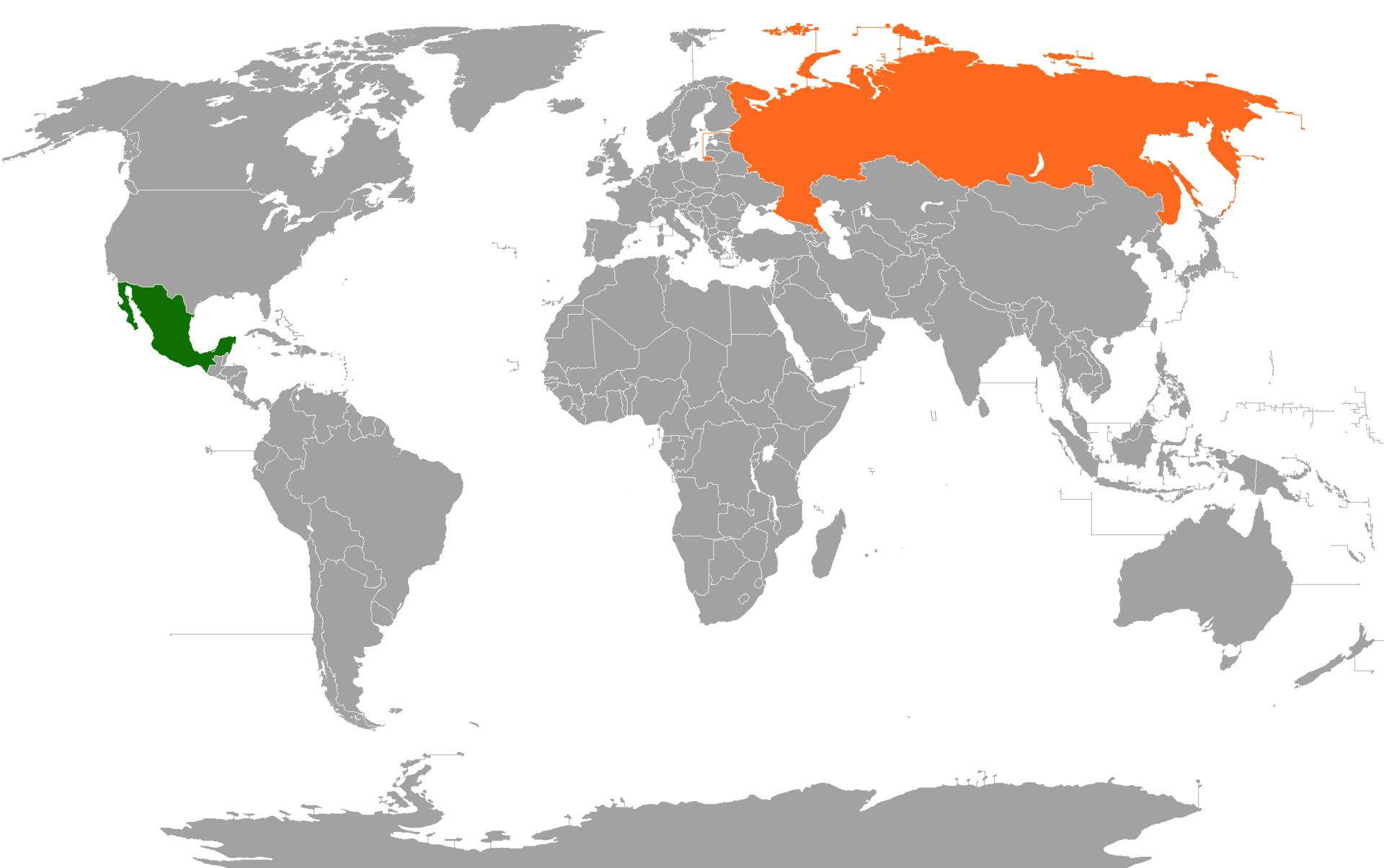 Resultado de imagen de russia mexico